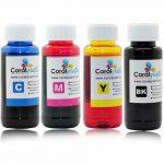 Universal-400ml-4x100ml-Cartridge-CISS-Refill-Ink-Bottle-For-4-Colour-Printer-372913688387