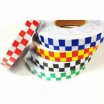 High-Quality-High-Intensity-Checker-Chequer-Reflective-Self-Adhesive-Vinyl-Tape-372756192479